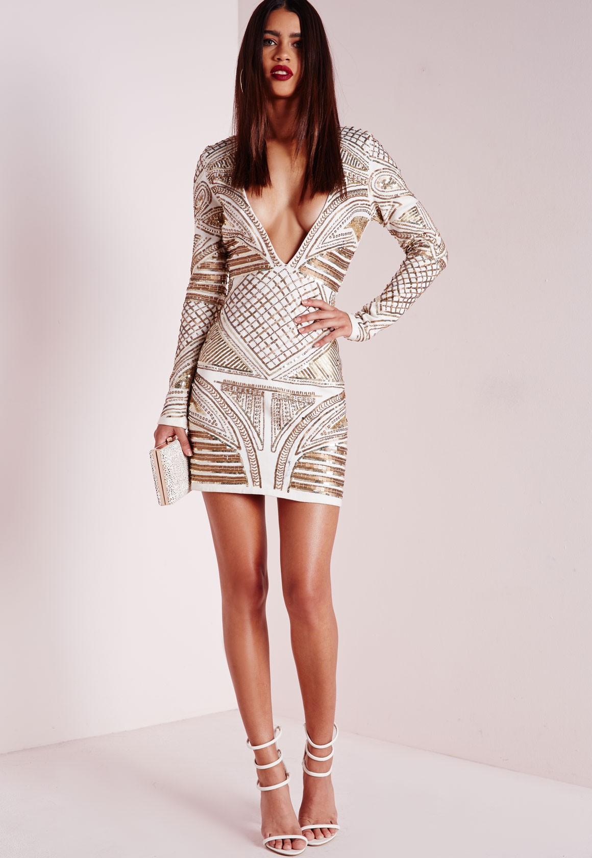 cb02c43f92e8 Premium Structured Lace Choker Bodycon Dress White